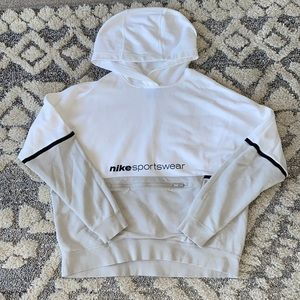Nike like new white and beige hoodie